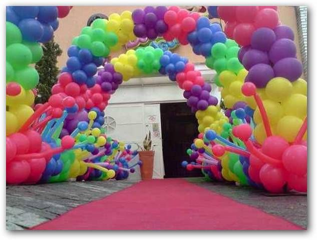 Arqhys Com Ideas Para Decorar Con Globos