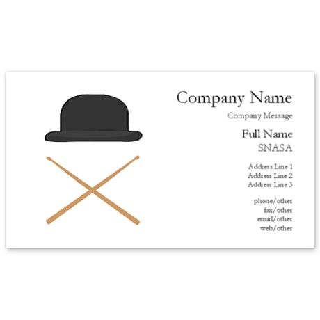 50 best business card ideas images on pinterest business card drummer business cards on cafepress colourmoves Image collections