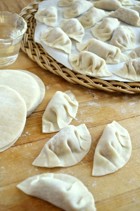 Chicken Gyoza (Pot Stickers) - Take my advice and make extra --- they go WAY too fast!