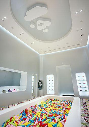 BAPE KIDS: Harajuku, Tokyo   interior design by wonderwall  photo by Ants  Colony!, via Flickr