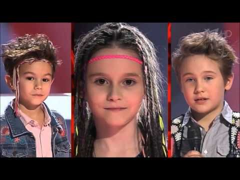 John Lennon - Imagine - cutest battle - the voice kids russia - Голос.Де...