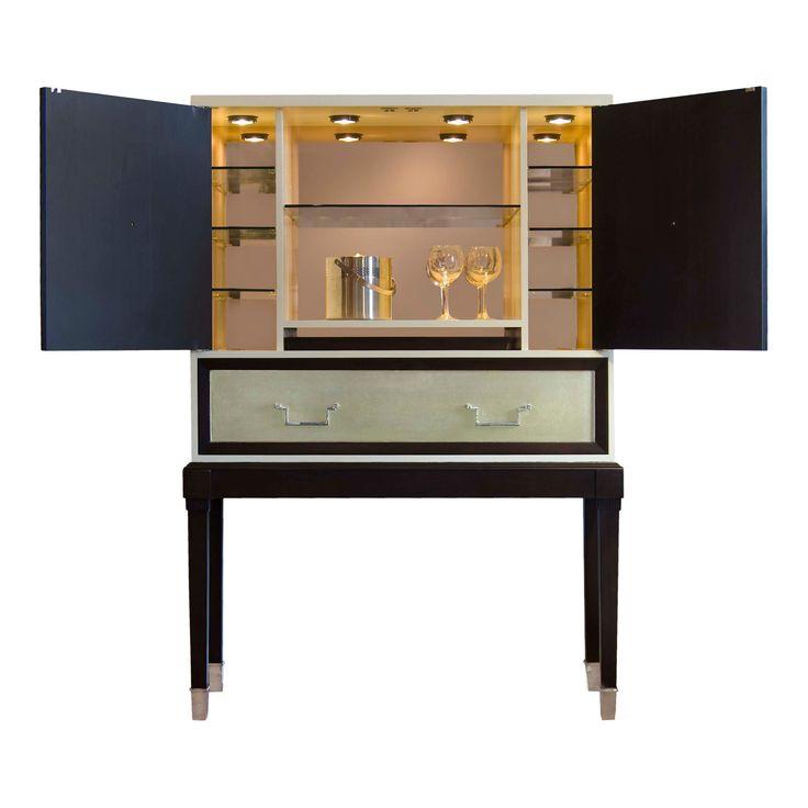belle meade bijou bar cabinet zincdoor