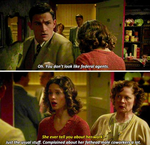 The sass is strong. #AgentCarter