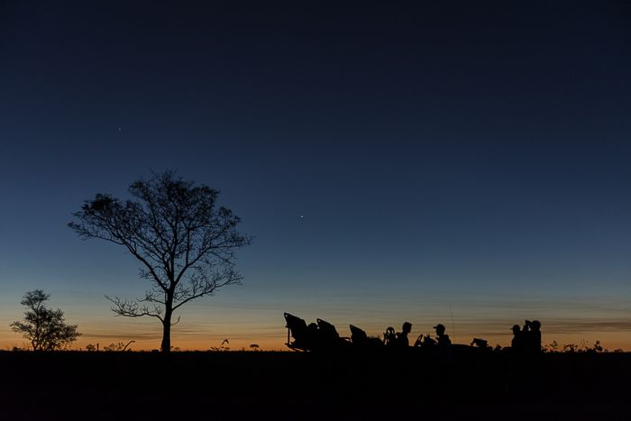 The day fades and gives way to the stars. Photograph by Simon Smit