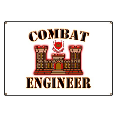 I know gaap tile coaster armed forces engineers and red for Combat engineer tattoo