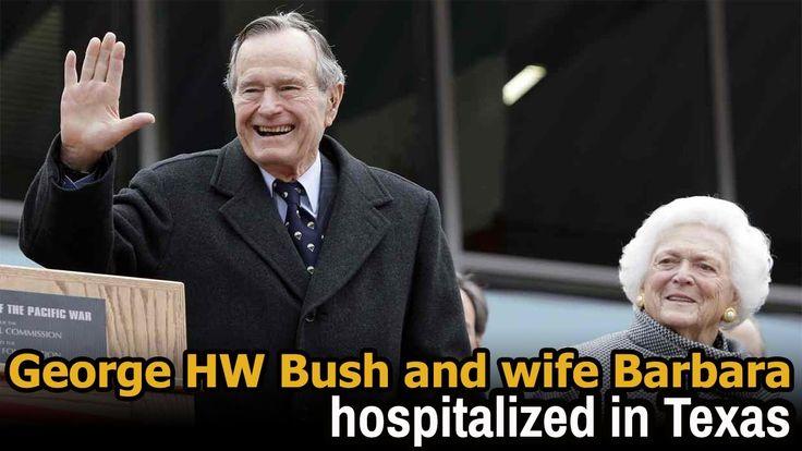 George hw bush hospitalized | george hw bush hospital | george w bush wi...