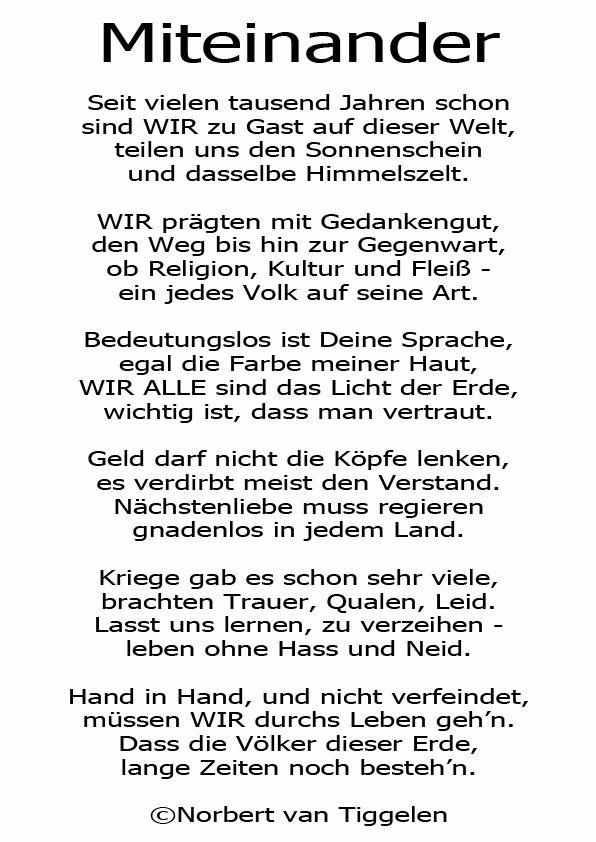 Hand leben gedicht hand durchs in lll▷ Gedichte
