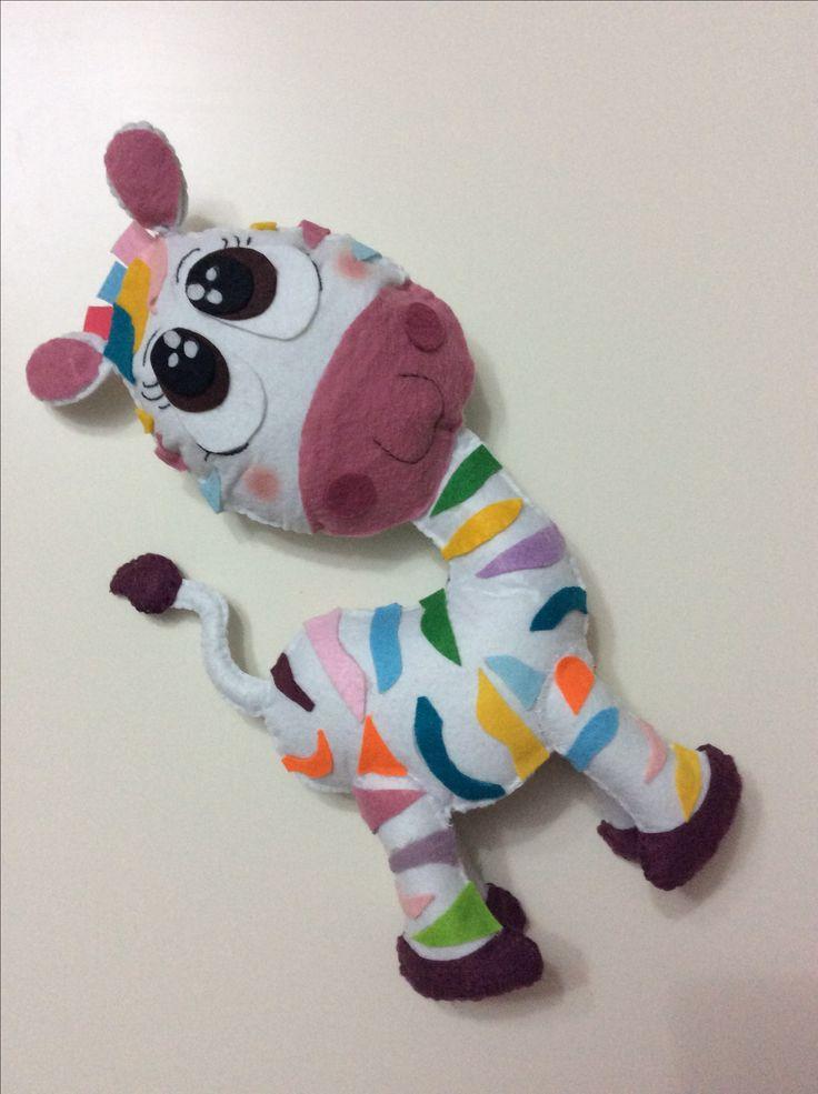 Renkli zebra