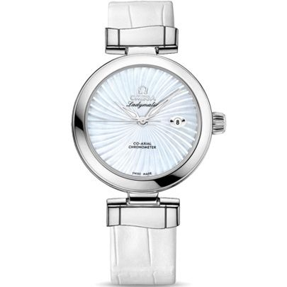 Omega Ladies De Ville Ladymatic Strap Watch 425.33.34.20.05.001