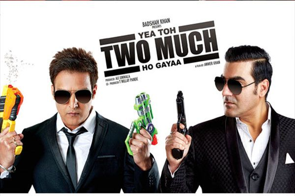 Yea Toh Two Much Ho Gayaa is an upcoming indian movie starrring Jimmy Shergil, Arbaaz Khan, Pooja Chopra, Bruna Abdullah, Murli Sharma, Zarina Wahab.