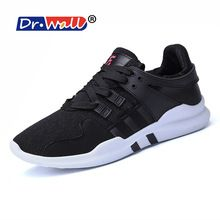 Dr.wall Ultra Boost Lightweight Handmade Leather Shoes Speedcross Roshe Krampon Outventure Jogging Zapatillas Deportivas Hombre(China)