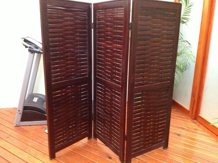 Biombo de madera puertas pinterest biombos de madera - Puertas de biombo ...