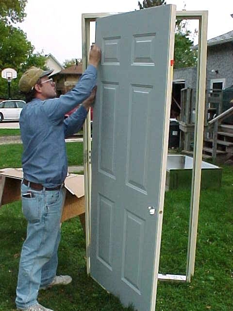 """Most exterior doors on mobile homes are not of standard size. If your door is in need of replacement, you can expect to pay 3-4 times the cost of a standard door to purchase a replacement of less than desirable quality. To get a better quality door at a """"normal"""" price, you have two options -- cut the door opening bigger to accept a standard size door, or cut-down a door to fit the opening. If you have the headroom, cutting the opening bigger is the preferred way."""