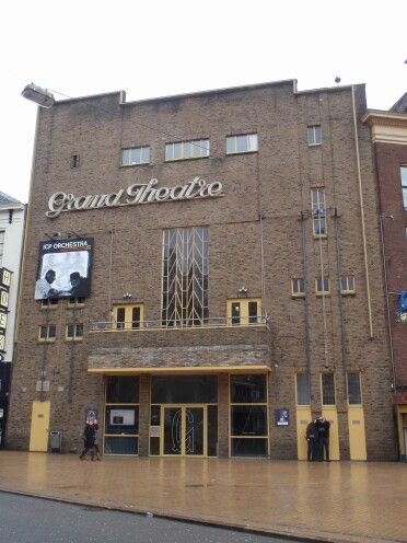 Amsterdamse School, Cinema, Groningen, the Netherlands