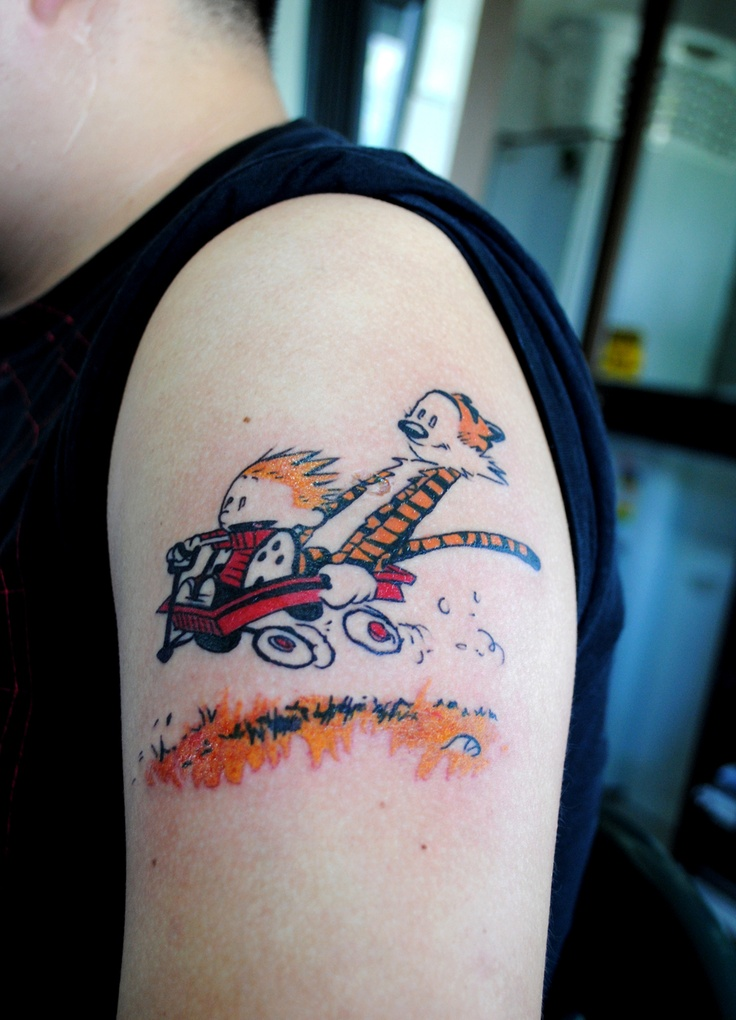 22 best calvin and hobbes tattoos images on pinterest calvin and hobbes tattoo cool tattoos. Black Bedroom Furniture Sets. Home Design Ideas