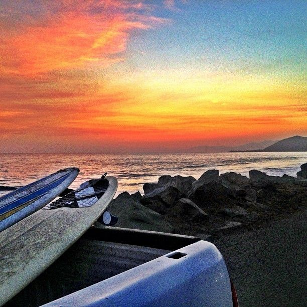 End Of Day Surf Ventura California Photo By B Swan7 Instagram
