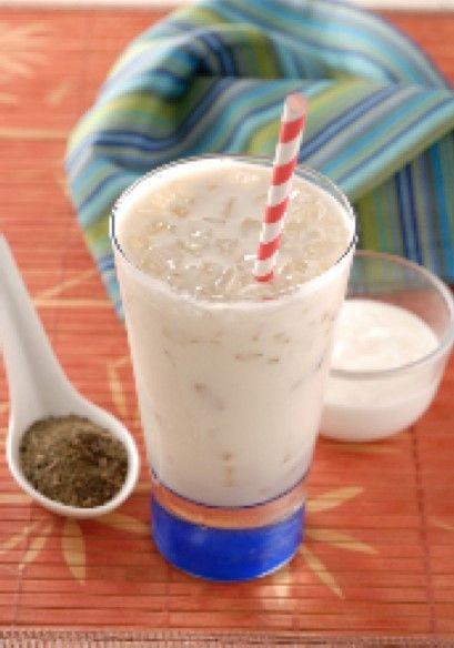 Smoothie de té verde y yogur - Cocina