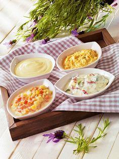 Crème-fraîche-Dips