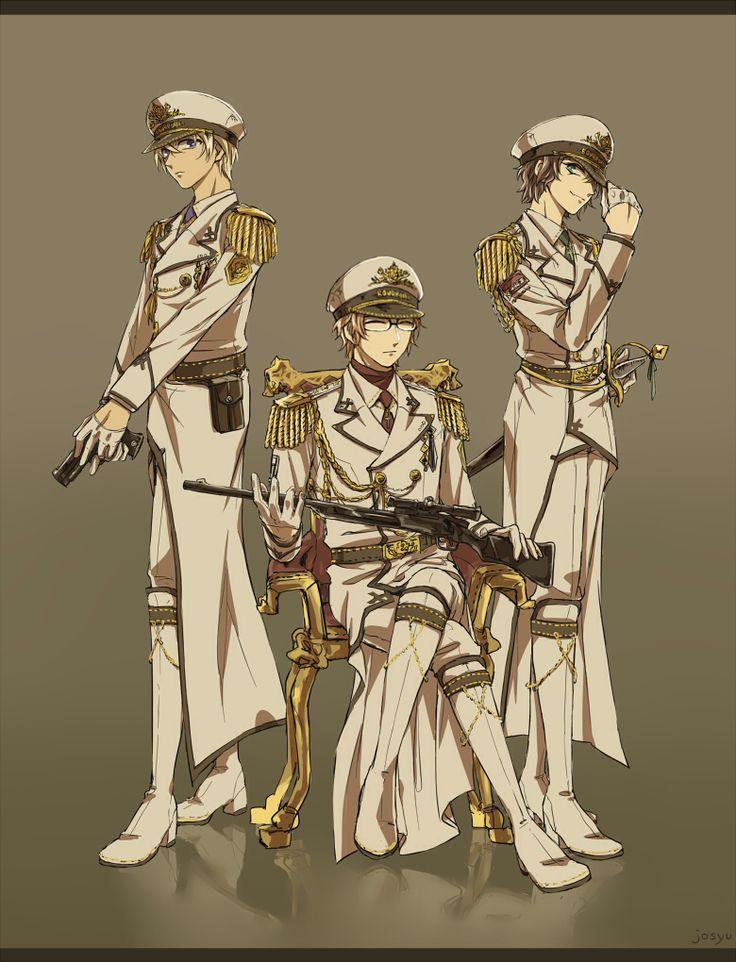 Detective Conan Tooru Amuro Bourbon Okiya Subaru & Masumi Sera