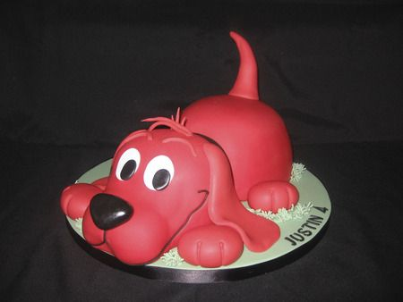The Big Red Dog. Where's Emily? Sue, we could plan a Clifford party or a book themed for Q if you'd like.