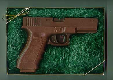 17 Best images about Chocolate and cake weapons on Pinterest | Pistols, Weapons and Glock 9mm