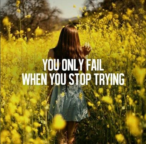 It is hard to fail but it is worse never to have tried to succesed.