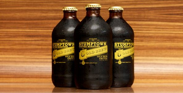 cute bottles of cold brew