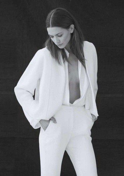 Sexy Suiting - Edgy and Elegant Wedding Suits for the Alternative Bride - Photos