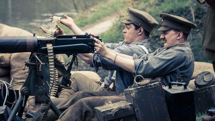 Serien baserad på dagböcker och protokoll av de som var med i det första världskriget.