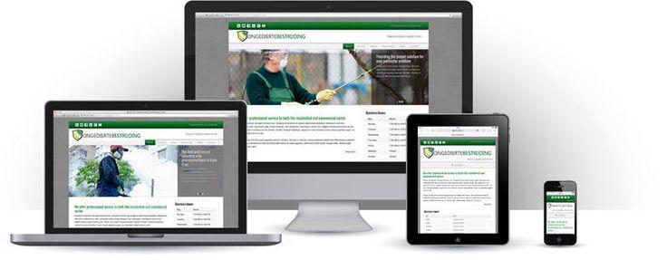 Ongediertebestrijding Website Maken - Template   Websitessmaken.nl