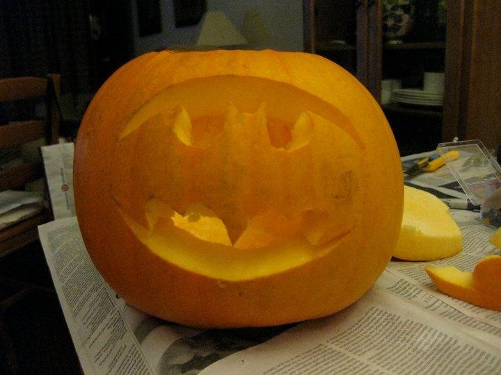 batman pumpkin