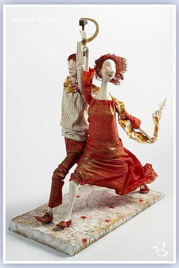 Егупец Ольга. Авторская кукла 2