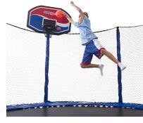 AlleyOop Sports ProFlex- Trampoline Basketball Set