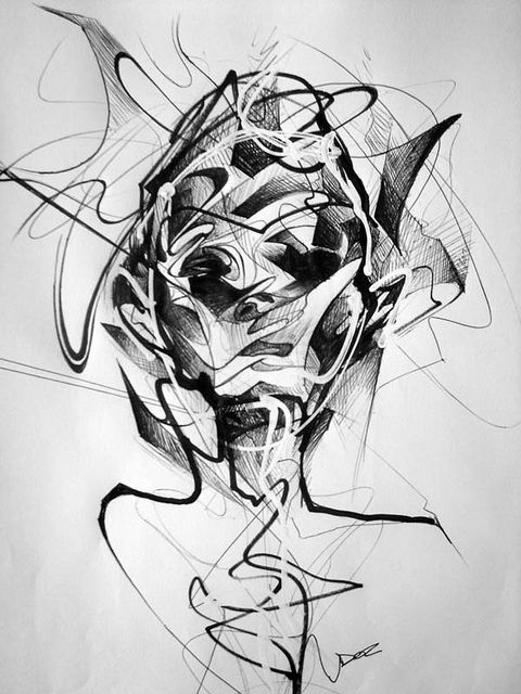 Art By Doc, abstract sketch