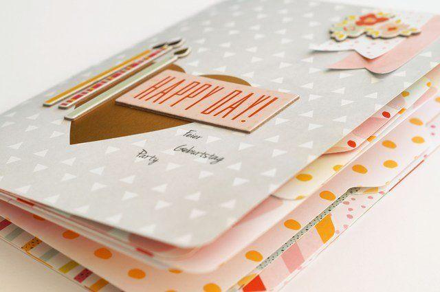 Mini-Album Tutorial mit Heftbindung || Scrapbook Werkstatt