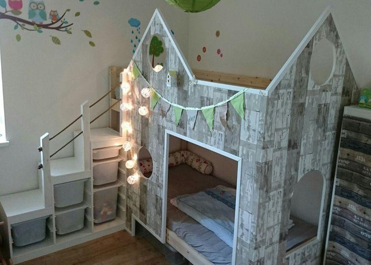 Kinderbett Doppelstockbett Hochbett diy