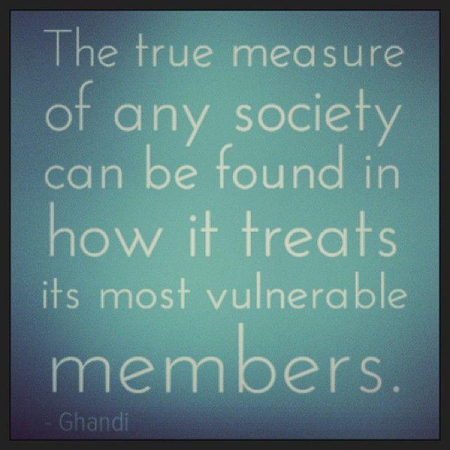 Mahatma Ghandi quote
