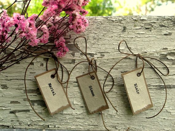 Favor tags: Places Cards Favors, Escort Cards, Place Cards, Wedding Favors Tags, Cards Favors Rustic, Wedding Tags, Cards Tags, Rustic Wedding Favors, Unique Weddings