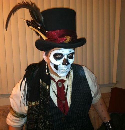 female diy voodoo priestess costume | Voodoo Doctor Costume