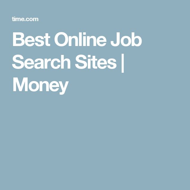 best sites for job search