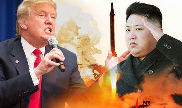 World War 3 alert: North Korea could 'fire deadly Juche bird nuclear weapon TODAY'