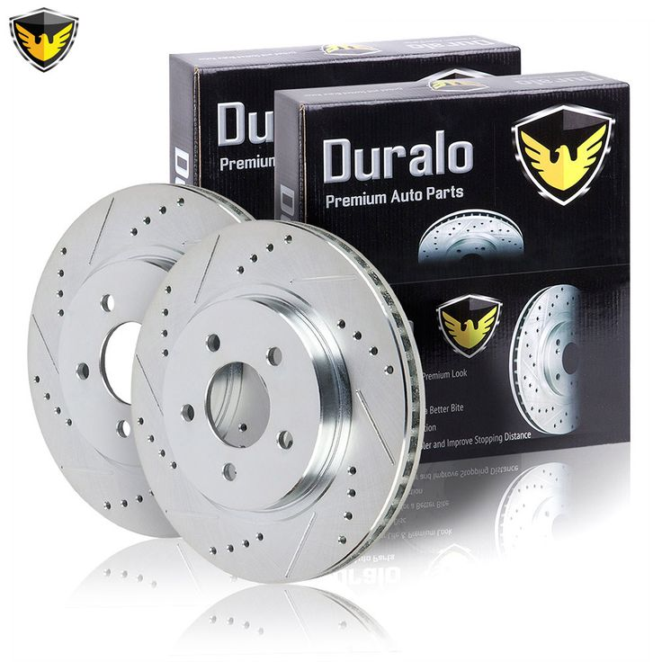New 2004 Volvo S40 Brake Disc Rotor Set - Front: 2004 Volvo S40 Brake Disc Rotor Set 5 Lug - 320mm… #AutoParts #CarParts #Cars #Automobiles