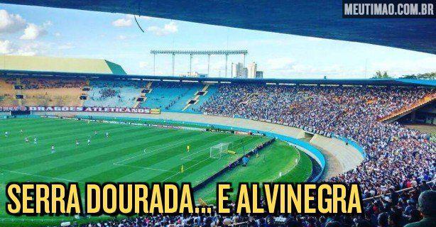 Dos pouco mais de 15 mil presentes no Serra Dourada para o duelo entre Atlético Goianiense e Corinthians, mais de 90% eram corintianos.