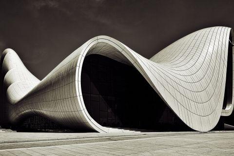 Haydar Aliyev cente organic architecture                                                                                                                                                     More
