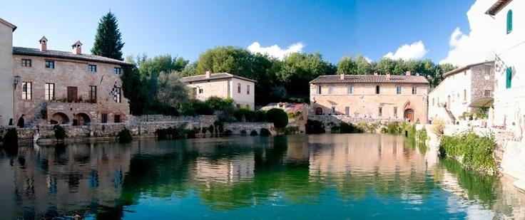 Bagno Vignoni   San Quirico D'Orcia (Siena)