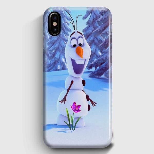 Funda Para Iphone 11 Pro Max Oficial De Frozen Olaf Silueta De