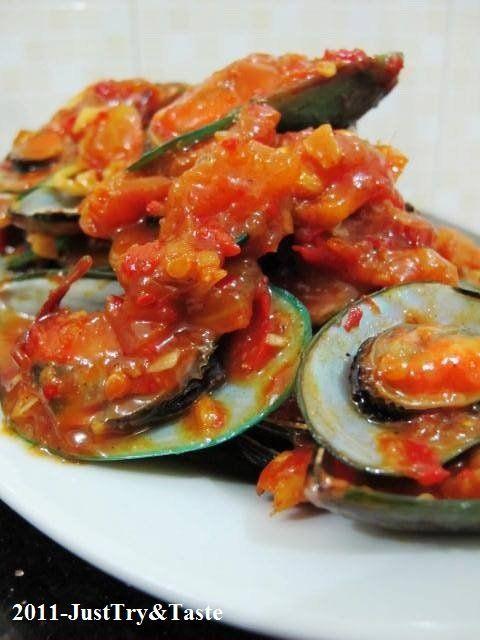 Just Try & Taste: Kerang Hijau Saus Padang