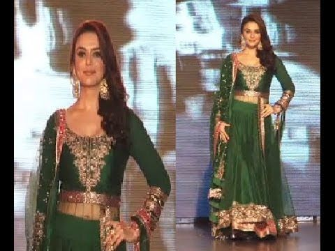 Preity Zinta walks the ramp | SAVE AND EMPOWER THE GIRL CHILD.