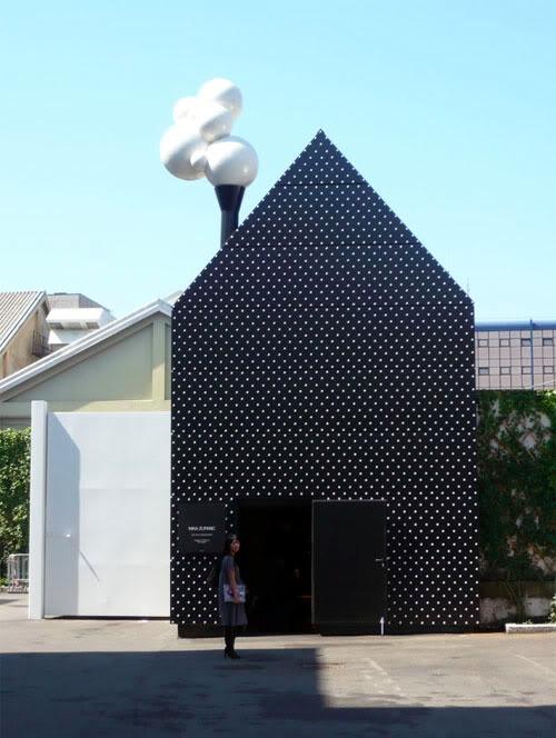 I want a polka dotted house!!