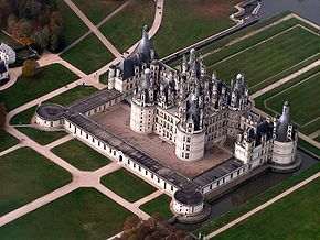 Chateau Chambord edit - Schloss Chambord – Wikipedia